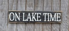 rustic lake signs | item details 328 shipping policies
