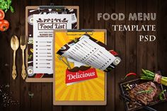 Restaurant Food Menu Psd Template #foodflyers #hotelflyers #junkfoodflyers #2sidesflyer #cafe #drinks #editable #fastfood #flyer #flyerrestaurant Restaurant Flyer, Restaurant Menu Template, Restaurant Recipes, List Template, Flyer Template, Retro Recipes, Food Lists, Food Menu, Design Bundles