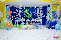 Under the Sea Birthday Party Ideas | Photo 9 of 77 | Catch My Party