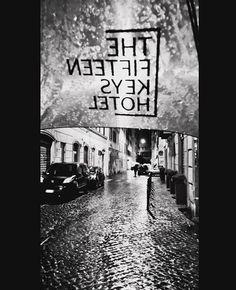 """You can stay under my (The Fifteen Keys Hotel's) umbrella""  in Via Urbana ☔ let's hope for better weather tomorrow, but at least... Rain won't stop you  #thefifteenkeyshotel #feelshomey #fifteenkeys #rionemonti #roma #rome #italy #umbrellas #customisedumbrellas #logo"