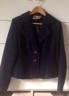 Kaufe meinen Artikel bei #Kleiderkreisel http://www.kleiderkreisel.de/damenmode/mantel-and-jacken-sonstiges/137780264-kobaltblauen-blazer-im-stil-der-20er-jahre