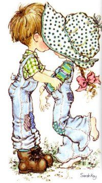 Immagini Sara Kay e Holly Hobbie Sarah Key, Holly Hobbie, Sara Key Imagenes, Vintage Pictures, Cute Pictures, Digi Stamps, Illustrations, Cute Illustration, Paper Dolls