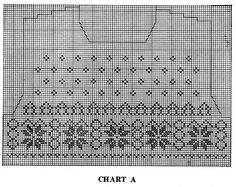 Scandinavian Sweater Pattern No. 5318 Chart 1