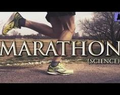 Science of marathon running
