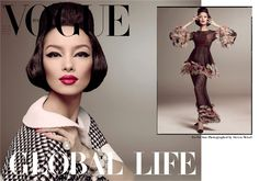 Fei Fei Sun Is the First Chinese Model to Score a Solo Vogue Italia Cover
