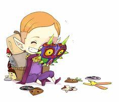 Happy Mask Salesman by e-hima.deviantart.com on @deviantART