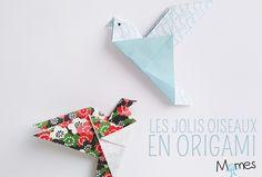 30 Ideas For Origami Facile Guirlande Origami Design, Diy Origami, Origami Simple, Origami Love Heart, Origami Swan, Origami Star Box, Origami Envelope, Origami Wedding, Origami Fish