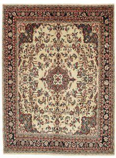 A Hamadan (Persian/Iran). Hand knotted, 9 mm thkns, 278 x 370 cm, Wool pile/Cotton warp. Old. 160K knots/m2.  CarpetVista/EXZH364