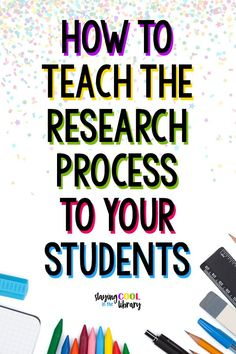 Teaching the Research Process We all know how important it is to teach our students information literacy skills: how to access, analyze, evaluate and communicate [. Teaching Writing, Teaching Strategies, Student Teaching, Teaching Tips, College Teaching, Kindergarten Writing, Creative Teaching, Research Writing, Research Skills