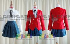 Toradora Girl School Uniform from Toradora - CosplayFU UK £50.78