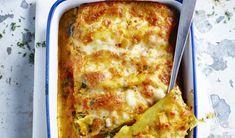 Cannelloni met spinazie, avocado en feta - I Love Food & Wine Sauvignon Blanc, Meatless Monday, Mozzarella, Lasagna, Feta, Avocado, Food And Drink, Pizza, Cheese