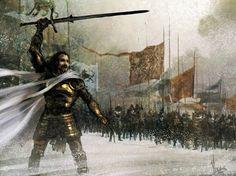 Eddard Stark command