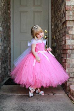 Sleeping Beauty Halloween Costume, Olaf Halloween Costume, Tutus For Girls, Girls Dresses, Fancy Dress, Pink Dress, Baby Pageant, Beauty Pageant Dresses, African Traditional Wedding Dress