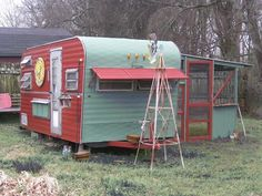 Have a trailer past possible rehab? Think chicken coop, garden shed... Save the trailers!
