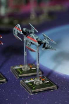 181st Imperial Fighter Wing TIE Interceptor. X-Wing Miniatures Game.