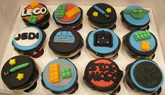 Starwars and Lego Cupcakes