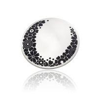 Jane Moore - Enamelled silver brooch