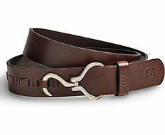 Hoof pick Belt, Brown Leather, dynamic