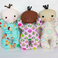 Butterbean PDF Doll Pattern. $11.00, via Etsy.
