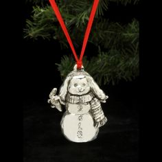 Holiday/Special Occasion ~ 2013 Snow Bunny Ornament ~ Arthur Court