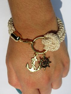cute nautical bracelet