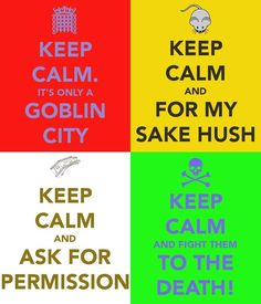 Labyrinth Sir Didymus - Keep Calm and... by ~PreciousThing66 on deviantART