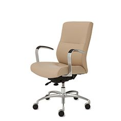 Mid Back Leather Conference ExecutiveSeating 9to5Seating Office Interiordesign Furniture