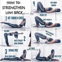 #JasmineYogaTutorial : Strengthen #lowerback #lowbackstrength A few ways to work your lower back without hurting yourself. A great therapy for people with lower back sensitivity. Start with short holds, many reps and build up to longer holds. Goodluck x Wearing #adidasSG