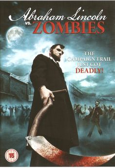 abraham lincoln vs zombies dvd cover - Google Search