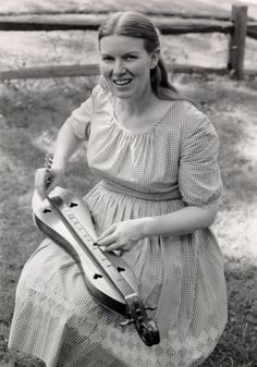 The Appalachian or Mountain Dulcimer is the core instrument of Appalachia. Its origins date back to the late 1800s, but the instrument gained most of its popularity in the 1950s folk revival through the playing of Jean Ritchie of Viper, Kentucky (pictured top).