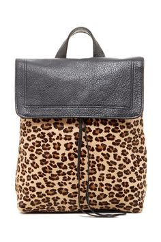 Posse Ives Leopard Print Backpack from HauteLook on shop.CatalogSpree.com, your personal digital mall.