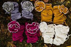 Carnation Legwarmers leg warmers Snugars Winter Collection baby infant newborn toddler girls. $32.00, via Etsy.