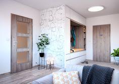 Swing a Elegant CPL borovice šedá struktur Elegant, Alcove, Decor, Furniture, Home, Alcove Bathtub, Entryway, Home Decor