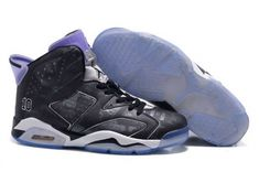6070e6754b91f1 Shop Air Jordan 6 Retro Slam Dunk Black-Purple - Mysecretshoes Ben L oncle