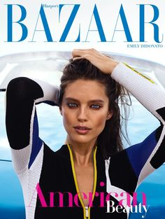 Emily DiDonato on Harper's Bazaar Greece July 2018 Cover