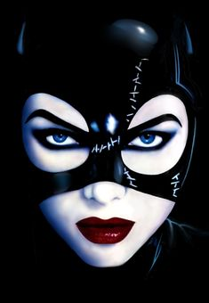 Catwoman painting if you know the artist please leave a comment so I can edit the description