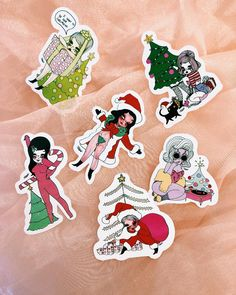 The Ho Ho Ho Sticker Packet Includes 6 festive stickers, perfect for presents and letters to Santa Valfre.com   #valfre