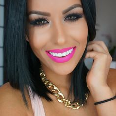 pink lips and empty hearts pdf free Makeup Is Life, Beauty Makeup, Makeup Looks, Eye Makeup, Hair Makeup, Hair Beauty, Contour Makeup, Beauty Tips, Flawless Makeup