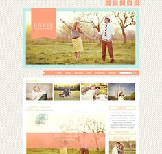 Dear Emmie - Pro Photo Blog Store  I love this blog template designer's work.