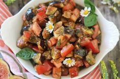 PaleOMG Fig & Tomato Basil Salad