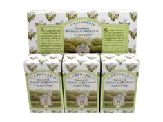 Mughetto (Lily of the Valley) Perfumed Soap Bar Collection by LErbolario Lodi (3 - 3.5oz Soap Bars)