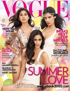 Vogue India Mar 2012: India's Next Top Models