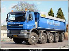 GINAF X5450-S 10x8 kippertruck van Van Asselt in Elspeet
