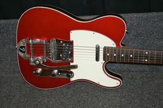 Fender 60's Telecaster Custom Reissue with Bigsby and Mastery Bridge