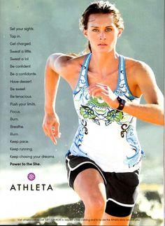 Athleta - Power to the She
