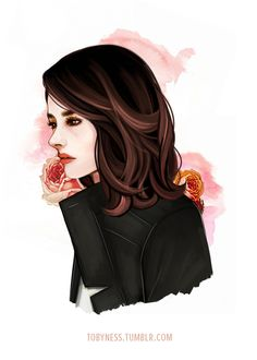 Allison Argent from teen wolf as Wren (only fanart like this though)