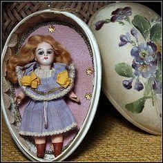 """All-Original 5"""" FG Mignonette in Silk Easter Egg"""