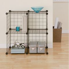 """Found+it+at+Wayfair+-+Wire+Cube+30""""+Shelving+Unit"""