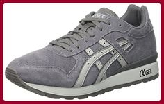 Asics Unisex-Erwachsene GT-II Sneaker, Grau/Hellgrau, 35 EU - Sneakers für frauen (*Partner-Link)