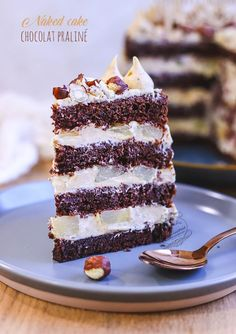 Lake Cake, Cake Chocolat, Nouvel An, Tiramisu, Dessert Recipes, Xmas, Drink, Ethnic Recipes, Pastry Recipe